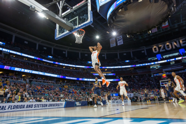 March Madness Basketball at the Amway Center in Orlando, Florida