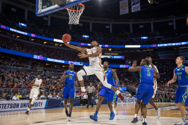 2017 NCAA March Madness at the Amway Center, Florida State University vs. Florida Gulf Coast