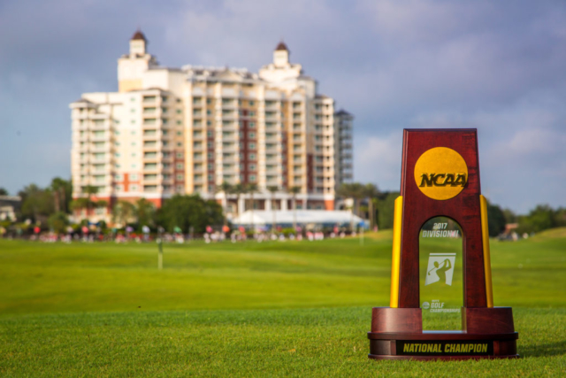 NCAA Division II Mens Golf at Reunion Resort in Kissimmee, Florida