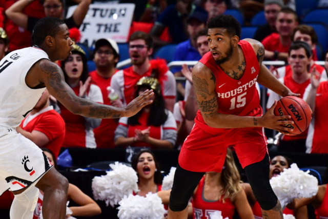 2018 American Athletic Conference Men's Basketball Championship - Houston vs. Cincinnati in the Semifinals at the Amway Center in Orlando, Florida