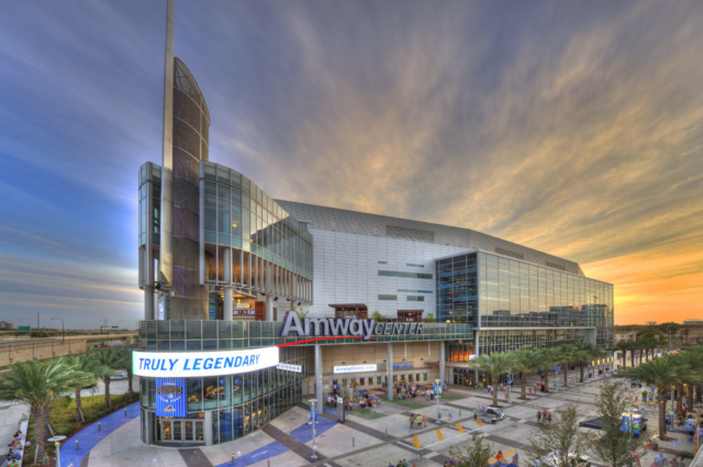 Amway Center in Orlando, Florida
