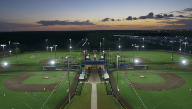 Boombah Sports Complex in Seminole County, Sanford, Florida