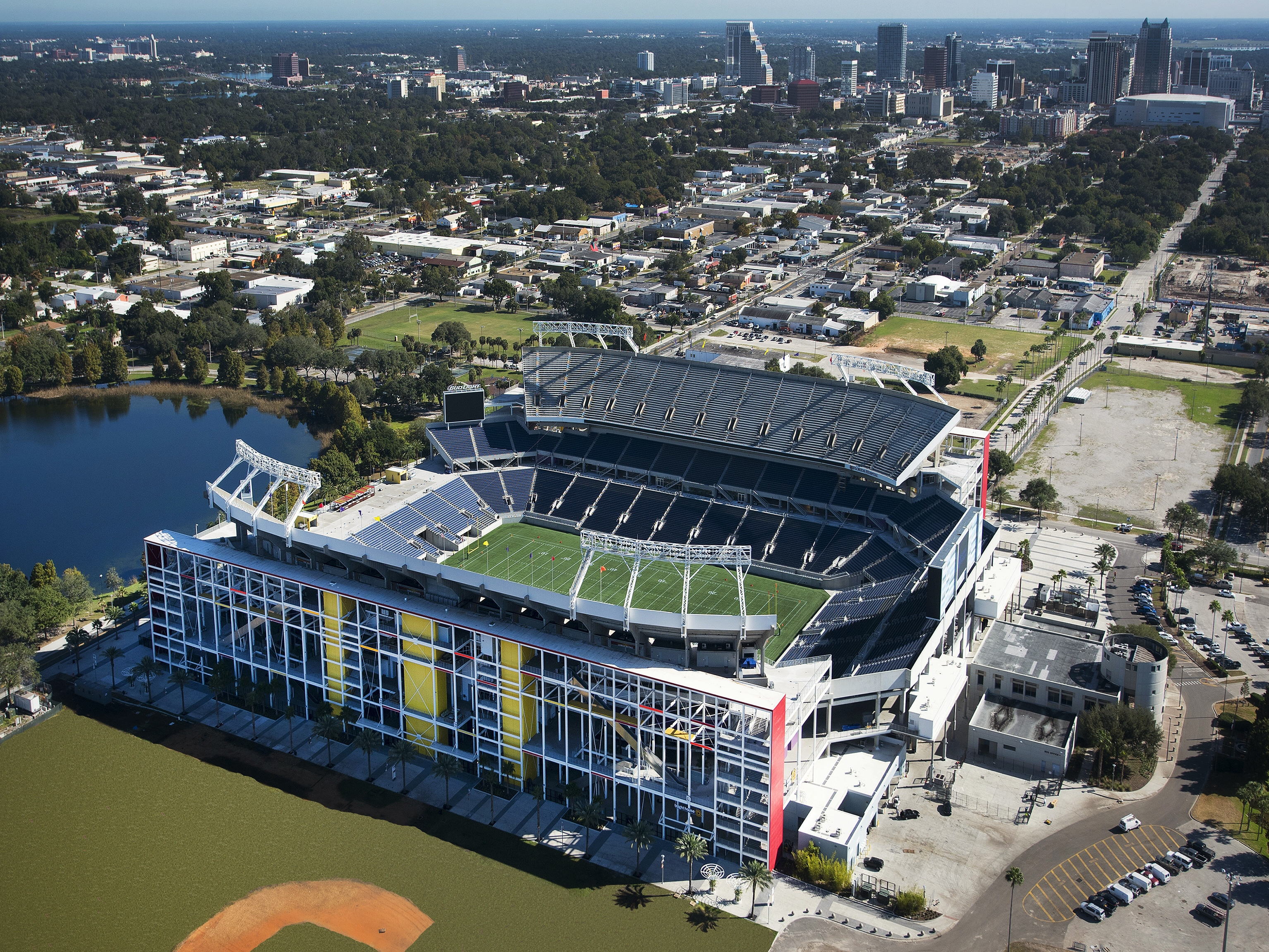 Camping World Stadium in Downtown Orlando, Florida