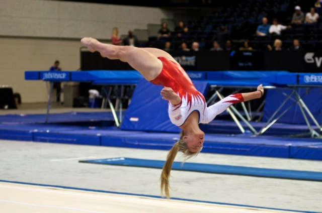 2014 Trampoline & Tumbling World Championships at the Ocean Center in Daytona Beach, Volusia County, Florida