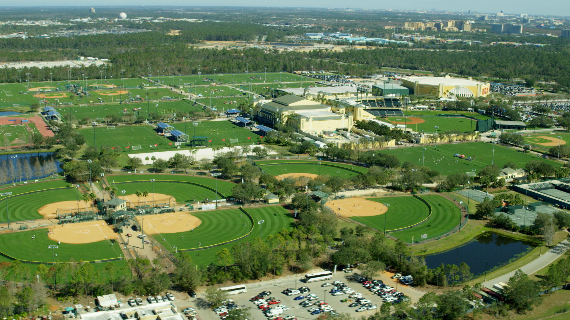 Disney World ESPN Wide World of Sports Complex in Kissimmee, Florida Osceola County