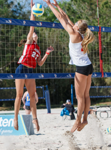 Stetson Invitational at Hickory Point Beach Sand Volleyball Complex in Lake County, Florida