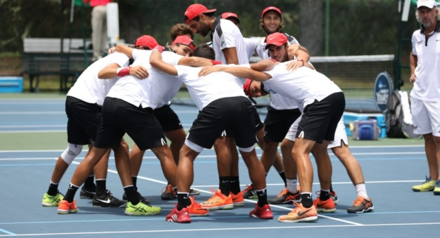 2017 NCAA DII Men's Tennis Championship at Sanlando Park in Seminole County, Florida