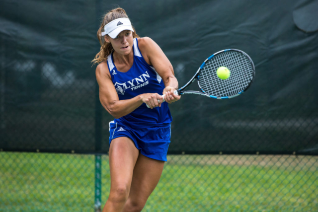 NCAA Division II Womens Tennis Championship in Sanlando Park, Seminole County, Florida, Lynn University