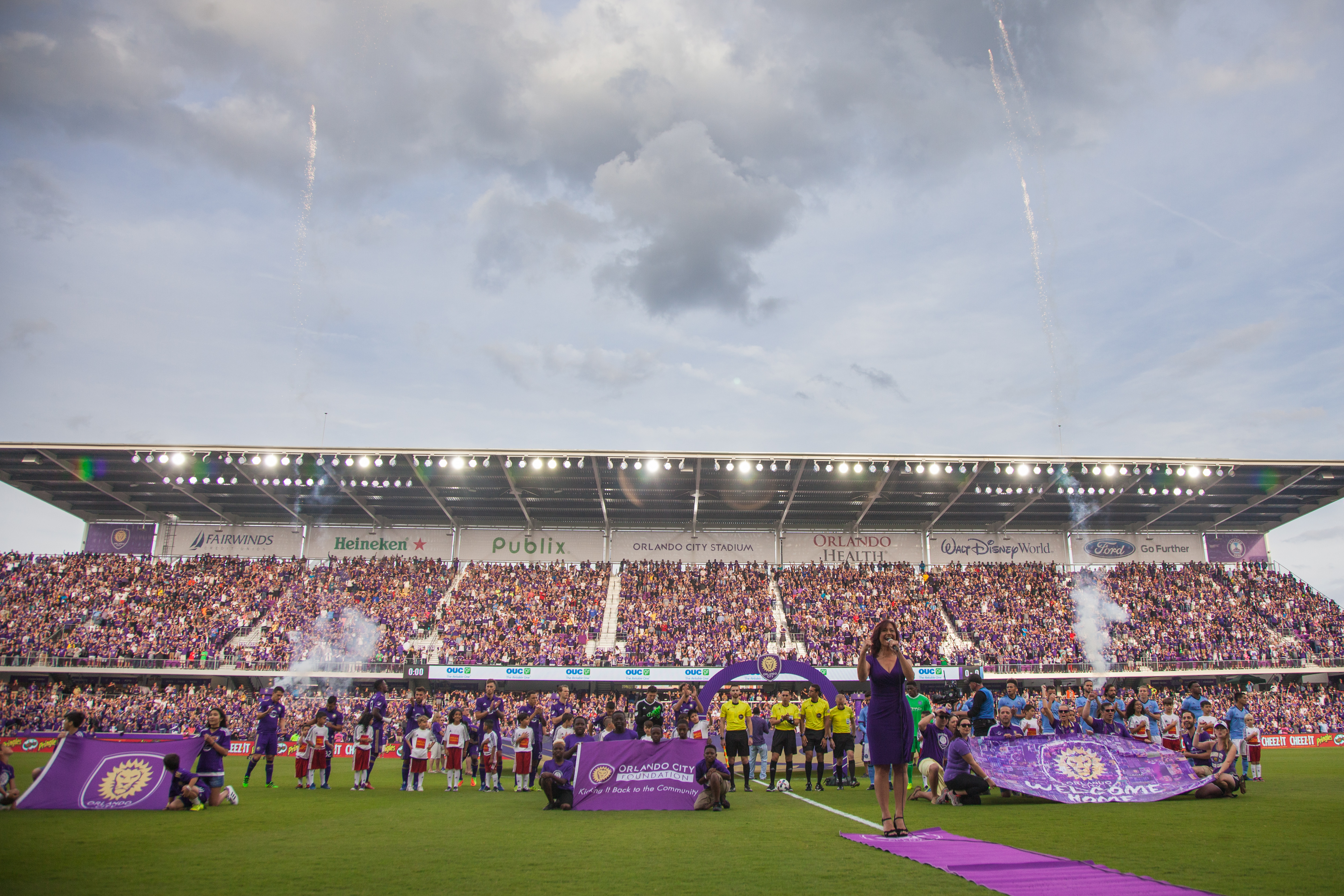 Orlando City Stadium Major League Soccer opening match 2017 season