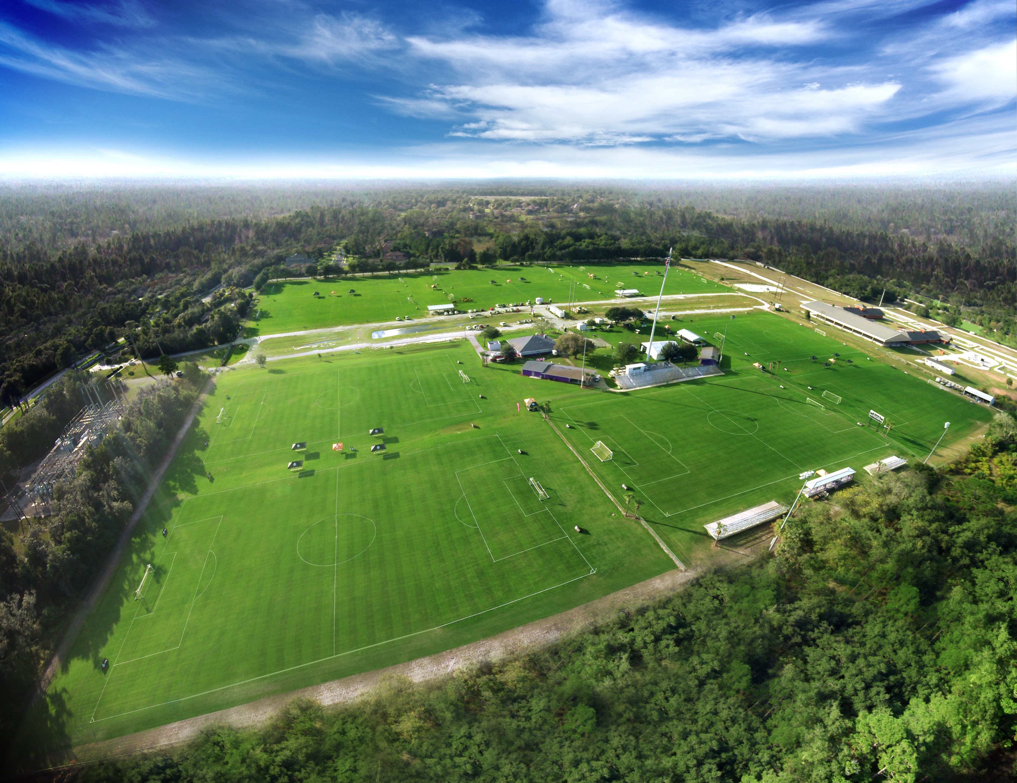 Seminole Soccer Complex in Sanford, Florida