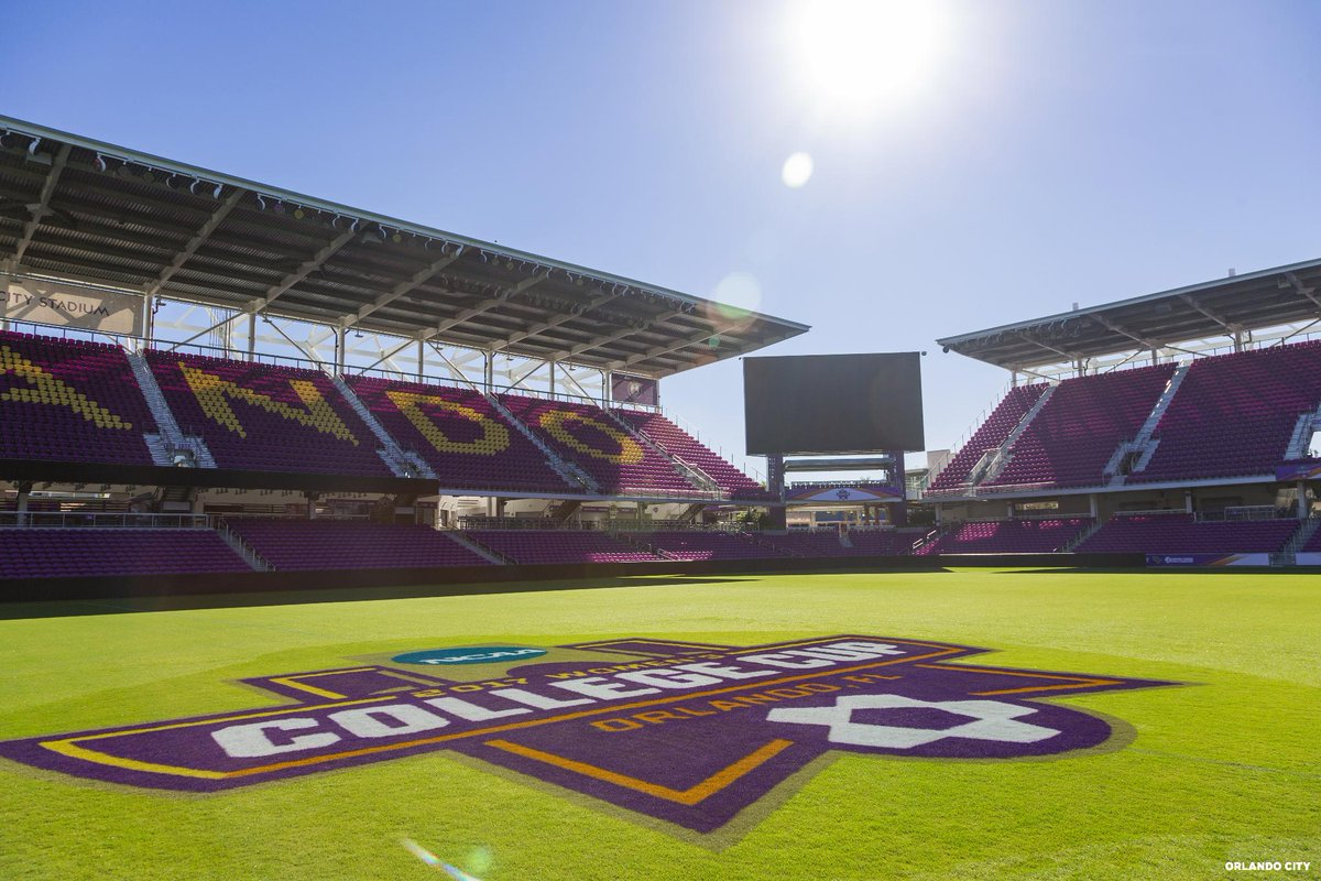 2017 NCAA Womens College Cup at Orlando City Stadium