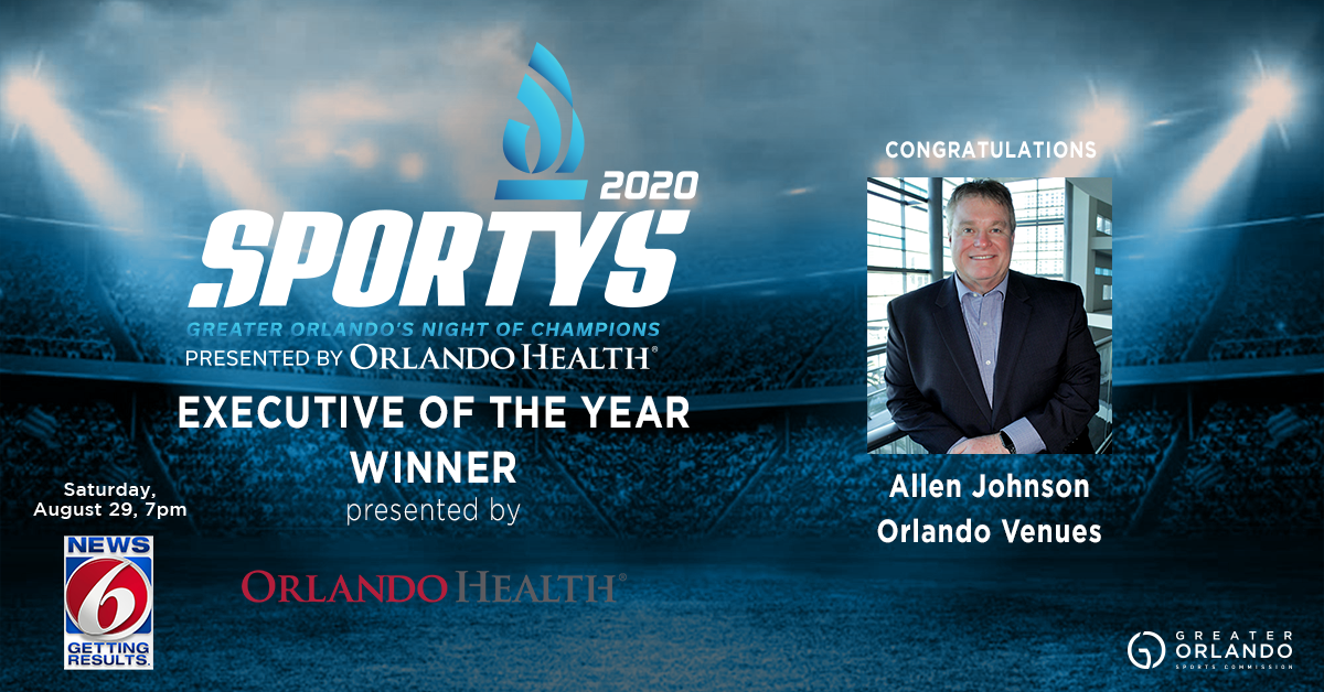 12. EXECUTIVE OF THE YEAR - ALLEN JOHNSON