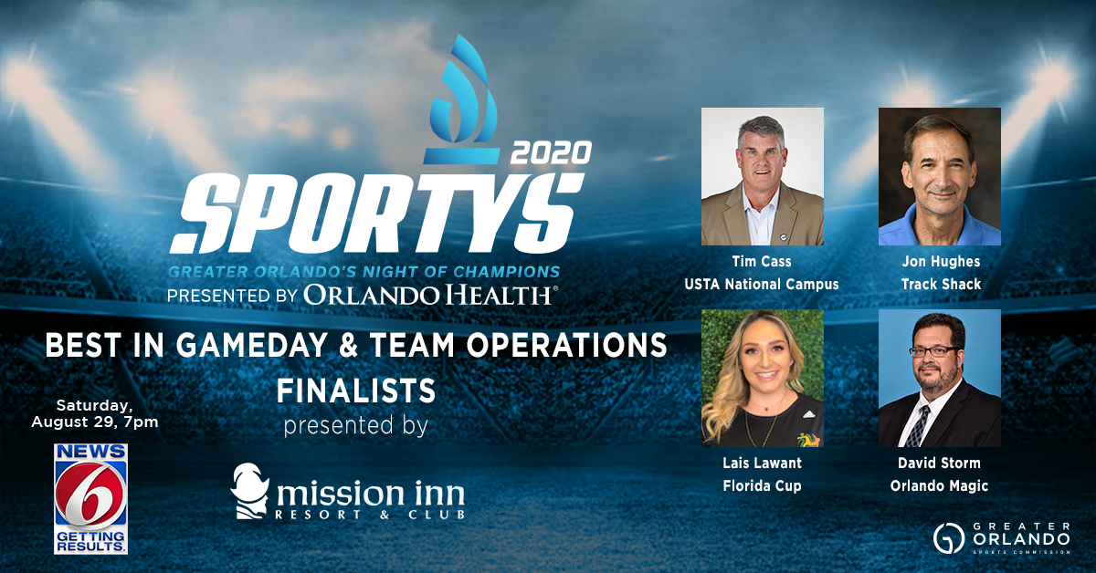 Gameday & Team Operations - Finalists