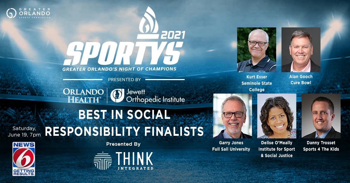 GO Sports - Social - SPORTYS 2021 Best in Social Responsibility