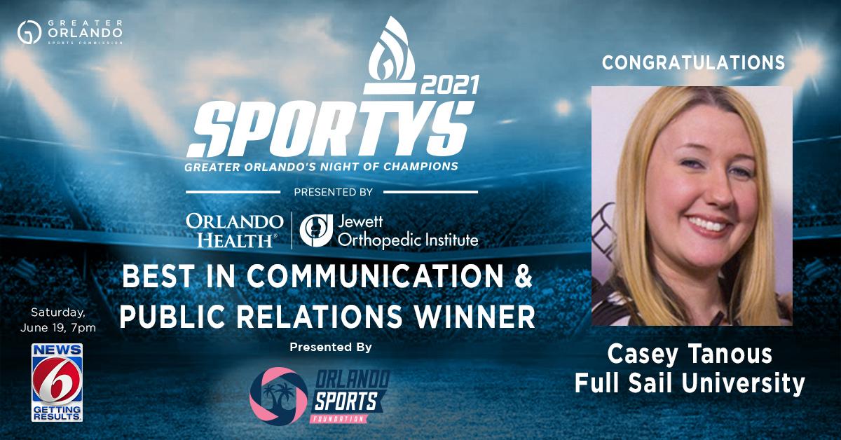 GO Sports - Social - SPORTYS 2021 winners - Communication