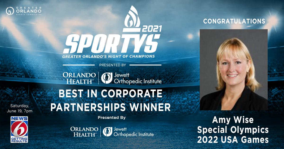 GO Sports - Social - SPORTYS 2021 winners - Corporate Partnership