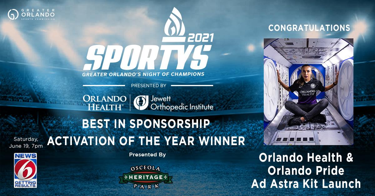 GO Sports - Social - SPORTYS 2021 winners - Sponsorship
